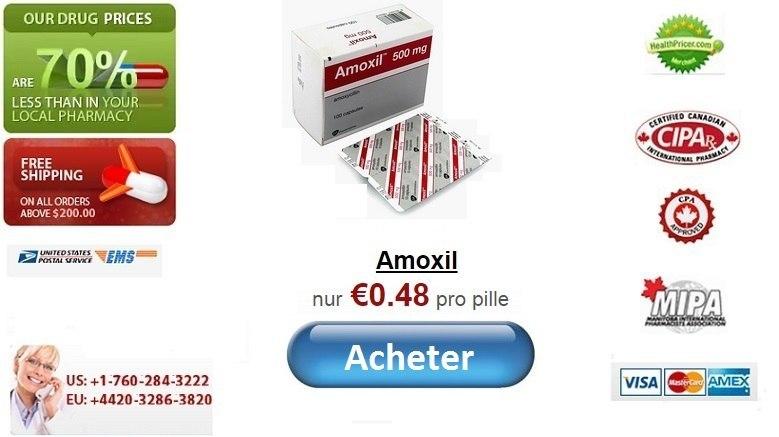 Acheter Amoxil en ligne sans ordonnance