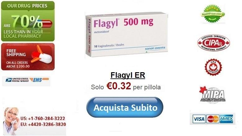 Acquistare Flagyl senza ricetta online