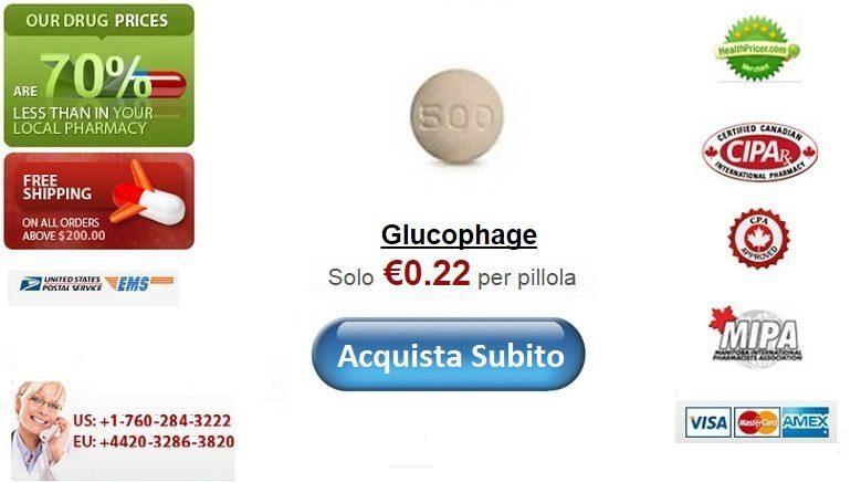 Acquistare Glucophage senza ricetta online