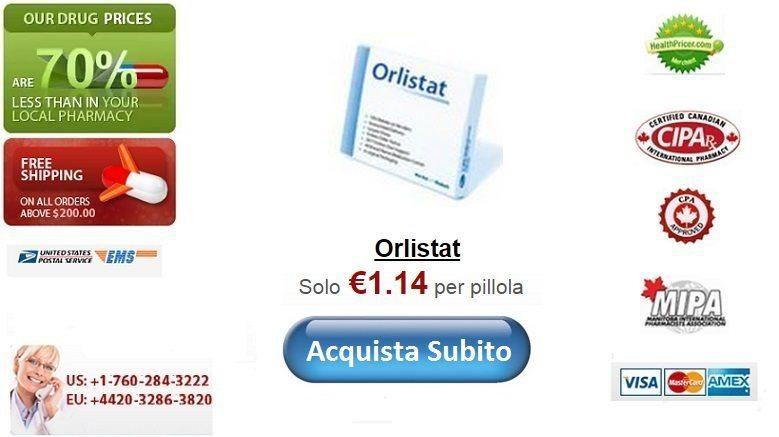 Acquistare Orlistat senza ricetta online