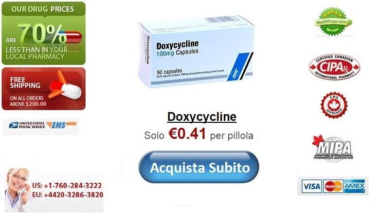 Acquistare Doxycycline senza ricetta online