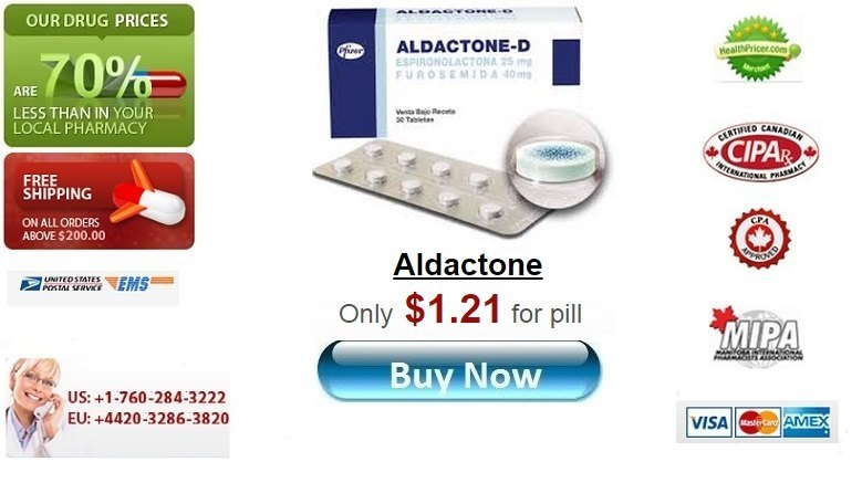 Buy Aldactone online without prescription